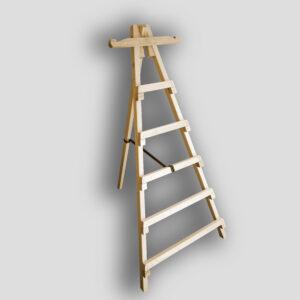 Ξύλινη Σκάλα Τρίποδη