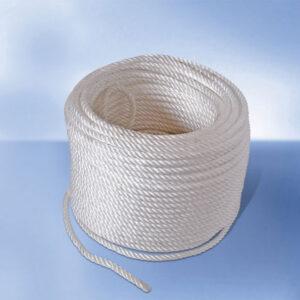 Σχοινί Πλαστικό Λευκό