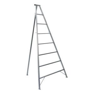 Μεταλλική Σκάλα Τρίποδη